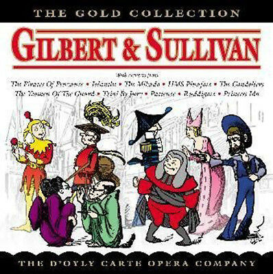 Very Best Of Gilbert And Sullivan Dx2 2 Cd Classical Music New Set