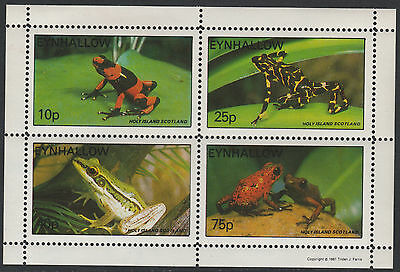 GB Locals - Eynhallow (1509) - 1981 FROGS perf sheetlet u/m
