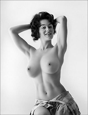 Sabine Demois 1964s Very Large breasts vintage nude Pinup 8 x 10 Photograph