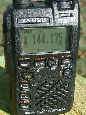 RICEVITORE SCANNER YAESU VR-160 100Khz 1300MhZ vr160 ricevitore band scope