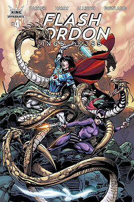 FLASH GORDON KINGS CROSS #4 COVER C EXCLUSIVE SUBSC (DYNAMITE 2017 1st Print)