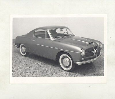 1954 ? Fiat 1100TV  Pininfarina ORIGINAL Factory Photograph ww5825