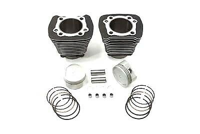 883cc to 1200cc Cylinder and Piston Conversion Kit Black,for Harley Davidson ...
