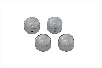 Cylinder Headbolt Cover Set Chrome fits Harley Davidson,V-Twin 37-8799