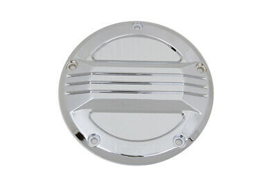 Chrome Air Flow Derby Cover fits Harley Davidson,V-Twin 42-1372