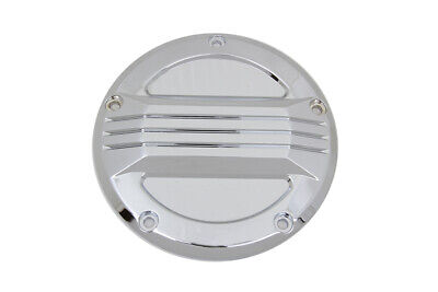 Chrome Air Flow Derby Cover,for Harley Davidson motorcycles,by V-Twin