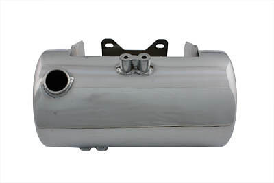 Chrome Round Side Fill Oil Tank,for Harley Davidson motorcycles,by V-Twin
