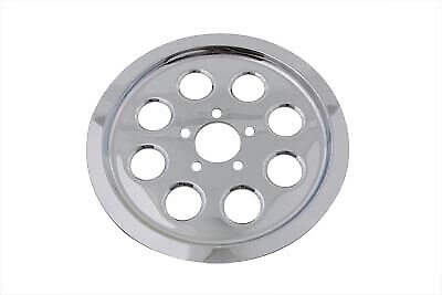 Outer Pulley Cover 70 Tooth Chrome fits Harley Davidson,V-Twin 42-0963