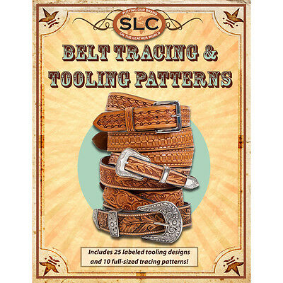 Springfield Leather Company Belt Tracing and Tooling Leather Pack