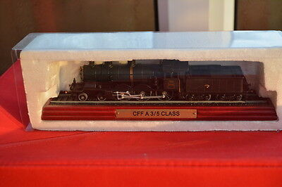 Atlas Editions Locomotive Train Model CFF A 3/5 Class