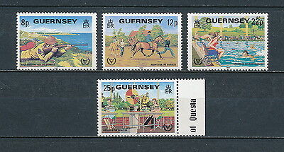 Guernsey 236-9  MNH, Year of the Disabled, 1981