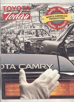 Fall 1988 Toyota Today US Dealer Magazine Brochure Volume 16 Issue 7 my6669