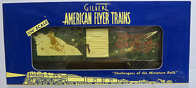 American Flyer Trains 6-48342 Christmas 2001 Boxcar S Gauge NIB