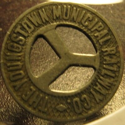 Very Old The Youngstown, OH Municipal Railway Co. Transit Trolley Token - Ohio
