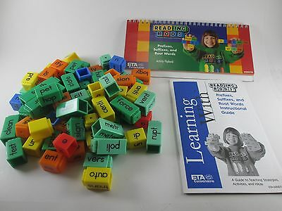 Reading Rods Lot Alphabet and Phonemic Kit Prefixes, Suffixes, and Root Words