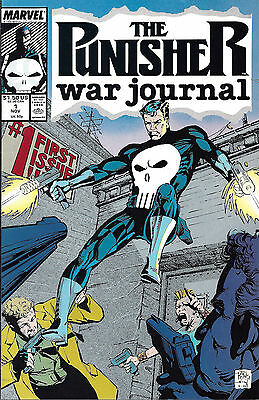 PUNISHER WAR JOURNAL #1  Nov 88
