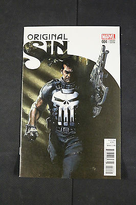 Original Sin 4 1:50 Gabrielle Dell'Otto Punisher Incentive Variant Edition Cover