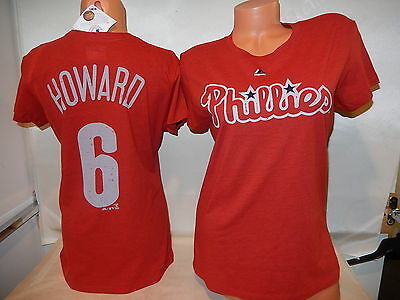 Hearty New Majestic Cool Base Philadelphia Phillies Chase Utley Baseball Jersey Mens Xl Activewear Tops