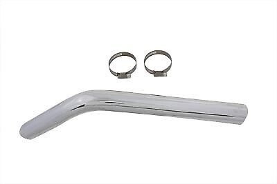 Exhaust Crossover Heat Shield Chrome fits Harley Davidson,V-Twin 30-0096