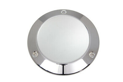 3-Hole Derby Cover Chrome fits Harley Davidson,V-Twin 42-7102