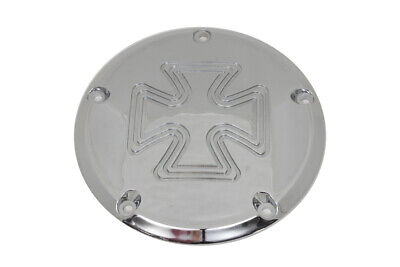 Cross Derby Cover Chrome Billet fits Harley Davidson,V-Twin 42-6026