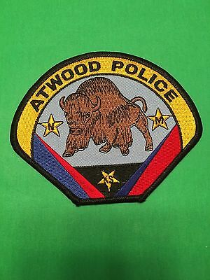 Atwood Kansas Police Shoulder Patch