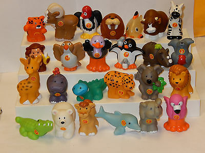 Fisher Price Little People Alphabet Animals Zoo Complete A-Z
