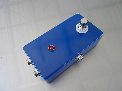 """""""Bypass Looper"""" MXR Style Pedal Effects FX Send/Receive Switchable Blue"""