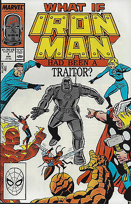 WHAT IF... #1  Jun 88  Iron Man Had Been A Traitor? - Special