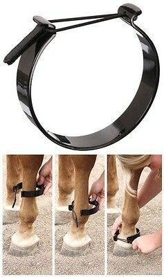 Tough 1 Paw Be Gone Ankle Bands Draft Horse Size Pawing Anklet Tack New