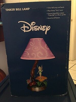 Tinkerbell Musical Lamp