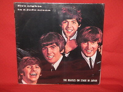 The Beatles Five Nights In A Judo Arena On Stage In Japan LP RECORD SEALED RARE