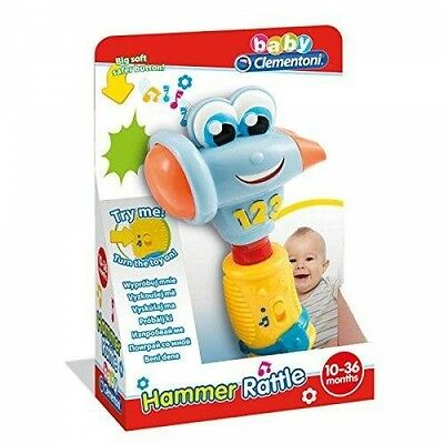 Clementoni Electronic Hammer Learning and Activity Toys Brand New