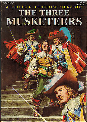 The Three Musketeers - Golden Picture Classics #CL-409 Excellent condition!