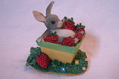 Charming Tails by Dean Griff * The Berry Best * Bunny in Raspberry Basket :)