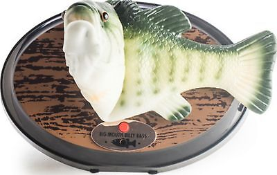 Billy Bass Singing Fish Big Mouth Animated Man Cave Bar Novelty Gift Dad Mancave