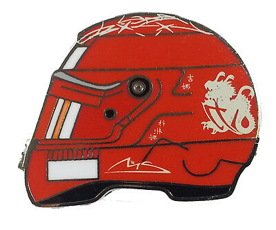 Michael Schumacher Anstecker / Pin Helm 2006 MS-13-82006