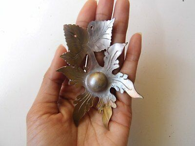 Bali Pendant Mabe Pearl Mother Sea Shell Carving_x769