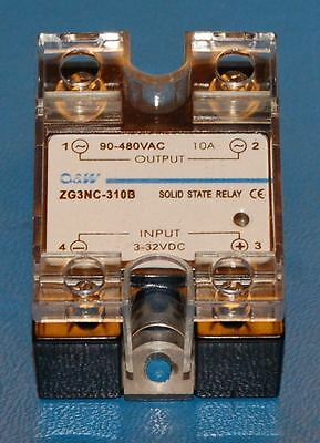 Solid-State Relay, 10A, 90~480VAC (Zero Switching)