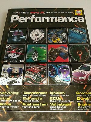 Haynes Max Power Definitive Guide to car Performance