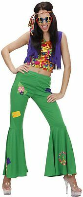 Costume Carnevale Donna Hippie,  Woodstock Anni 60 PS 24878