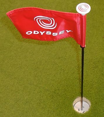 Odyssey Golf Flag Stick With Putting Cup