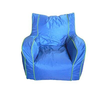 Boscoman - Cody Large Lounger Chair Bean Bag - Strong Blue