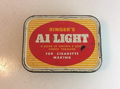 Vintage Ringers A1 Light Tobacco Tin