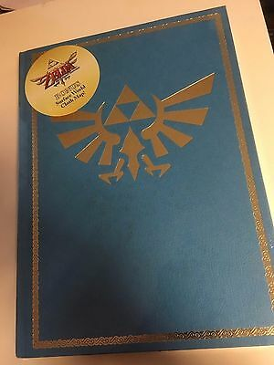 ZELDA SKYWARD SWORD The Official Prima Guide Collector's Edition + Cloth Map NEW