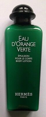 Eau D'orange Verte Hermes Paris Lait Emulsion Pour Le Corps Flacon 30 Ml Neuf