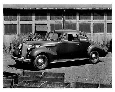 1938 Packard Eight Club Coupe ORIGINAL Factory Photo ouc0340