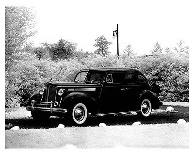 1938 Packard Eight Model 1601 Touring Sedan ORIGINAL Factory Photo Photo ouc0343