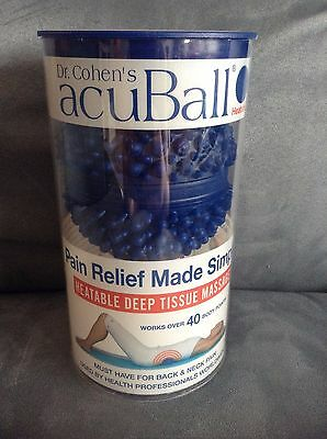 Dr. Cohen's Acuball For Neck And Back Pain (Latex Free, Water Filled) - New