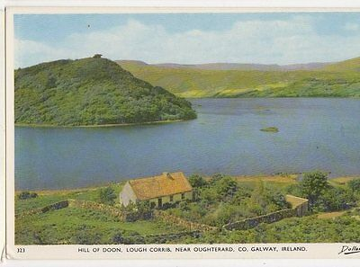 Hill Of Doon Lough Corrib Oughterard Co Galway Ireland Old Postcard 0948
